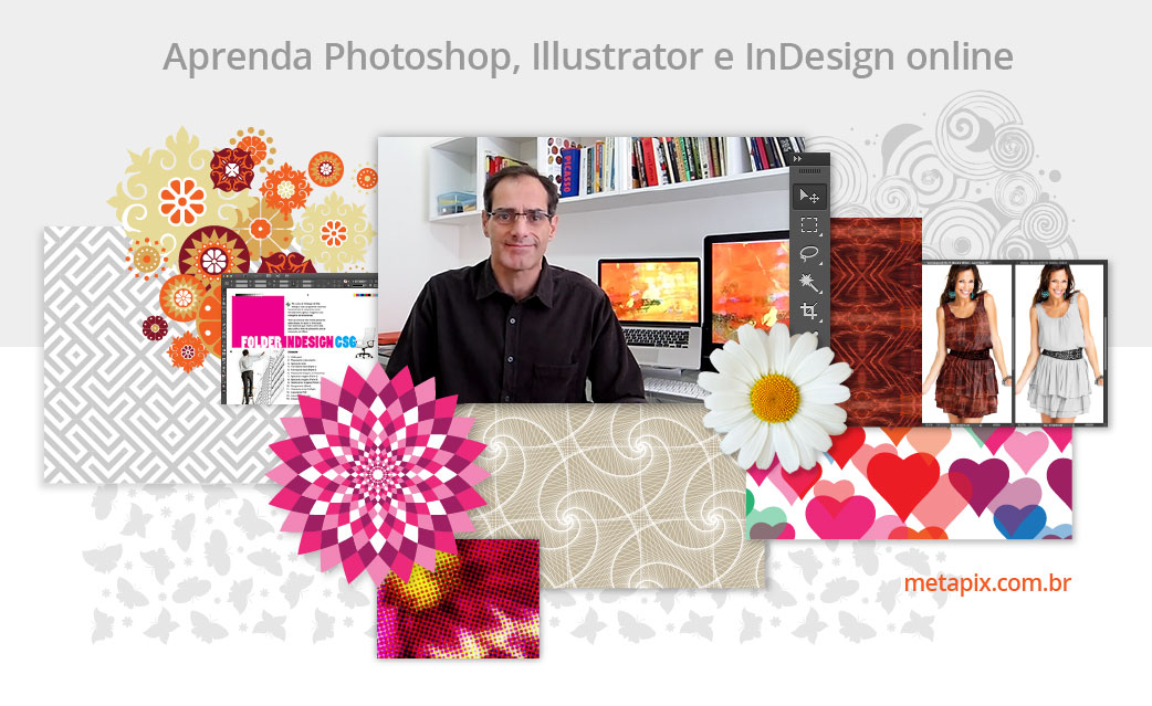 Aprenda Photoshop, Illustrator e InDesign Online